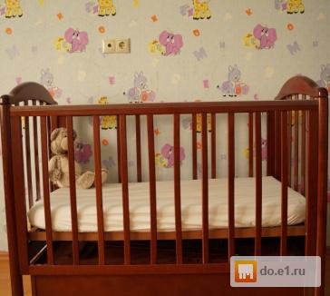 Детская кроватка   б/у