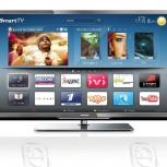 """телевизор Smart LED задница Philips 01см FullHD WiFi 02"""", Екатеринбург"""