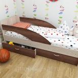 Кроха, кровать детская, Ясень шимо, 80190 см (ТМК), Екатеринбург