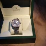 Часы rolex мод 116244 класс люкс 62 бриллианта в бел. золот 18 карат, Екатеринбург