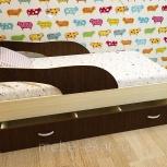 Кроха-2, Детская кровать 80160 см, Венге, Екатеринбург