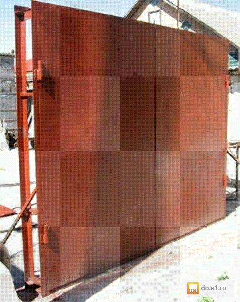 Ворота для промышленных объектов в Чкаловске