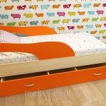 Детская кровать Кроха-2, 80160 см, Оранж (ТМК), Екатеринбург
