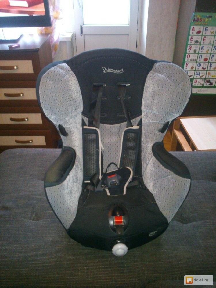 Автомобильные сидения (бустеры детские) группа 3