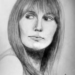 Рисую портреты за карточка во карандаше, Екатеринбург