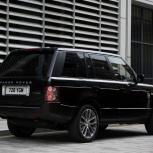 Услуги представительского внедорожника Range Rover Vogue, Екатеринбург
