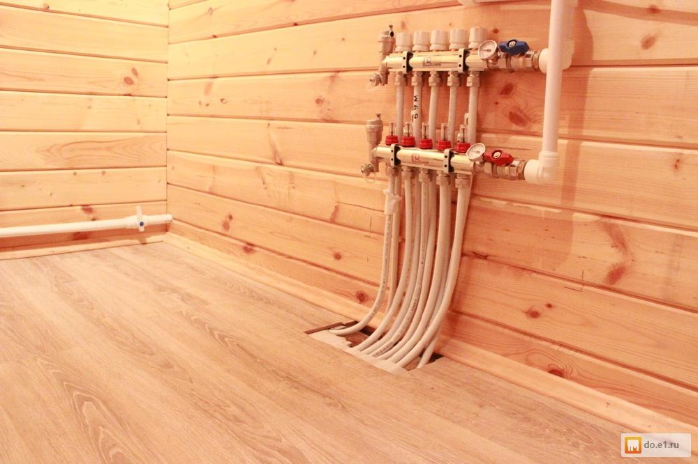 Как в деревянном доме сделать теплые водяные полы