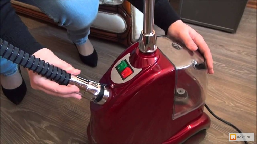 Ремонт отпаривателя для одежды своими руками видео