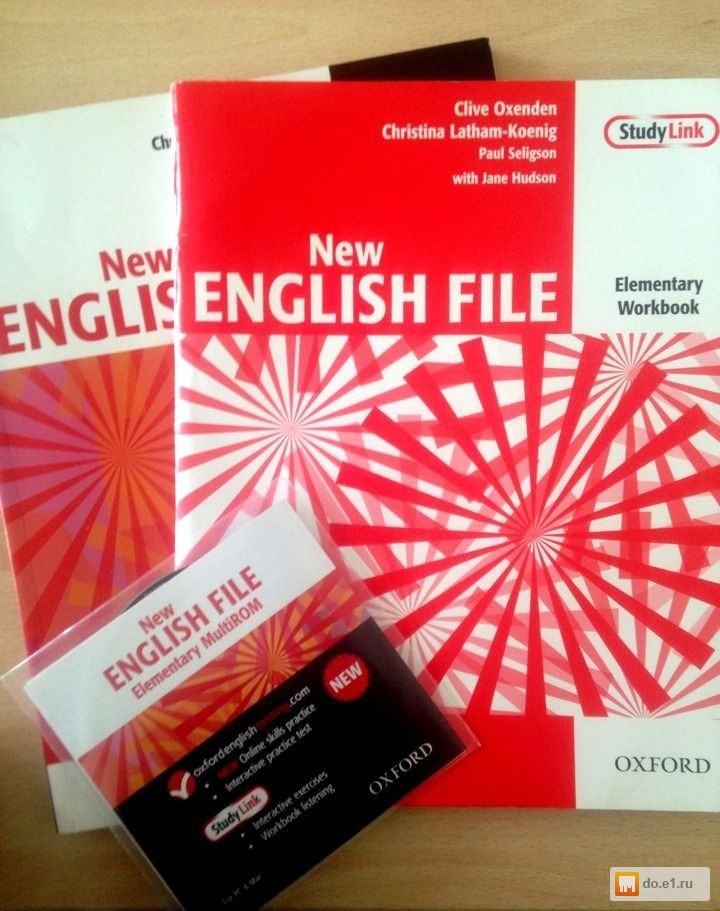 New english file. Elementary workbook