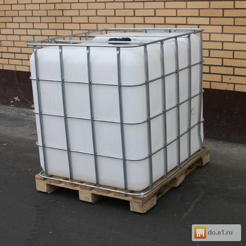 1еврокубы - емкости пластиковые 1000 литров