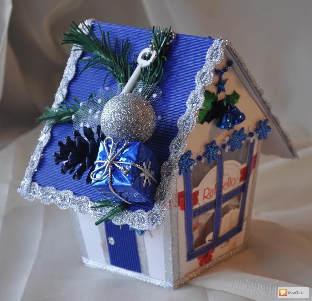 Новогодние коробочки и поделки своими руками