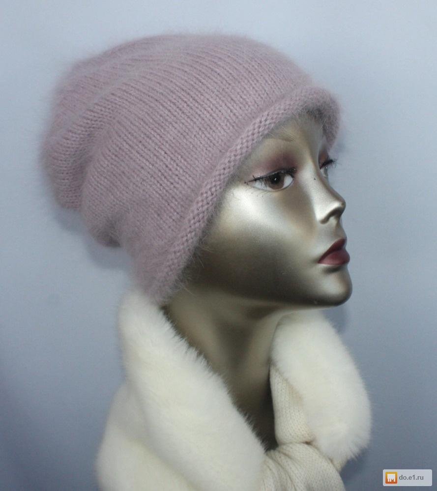 Вязание шапок из ангоры 118