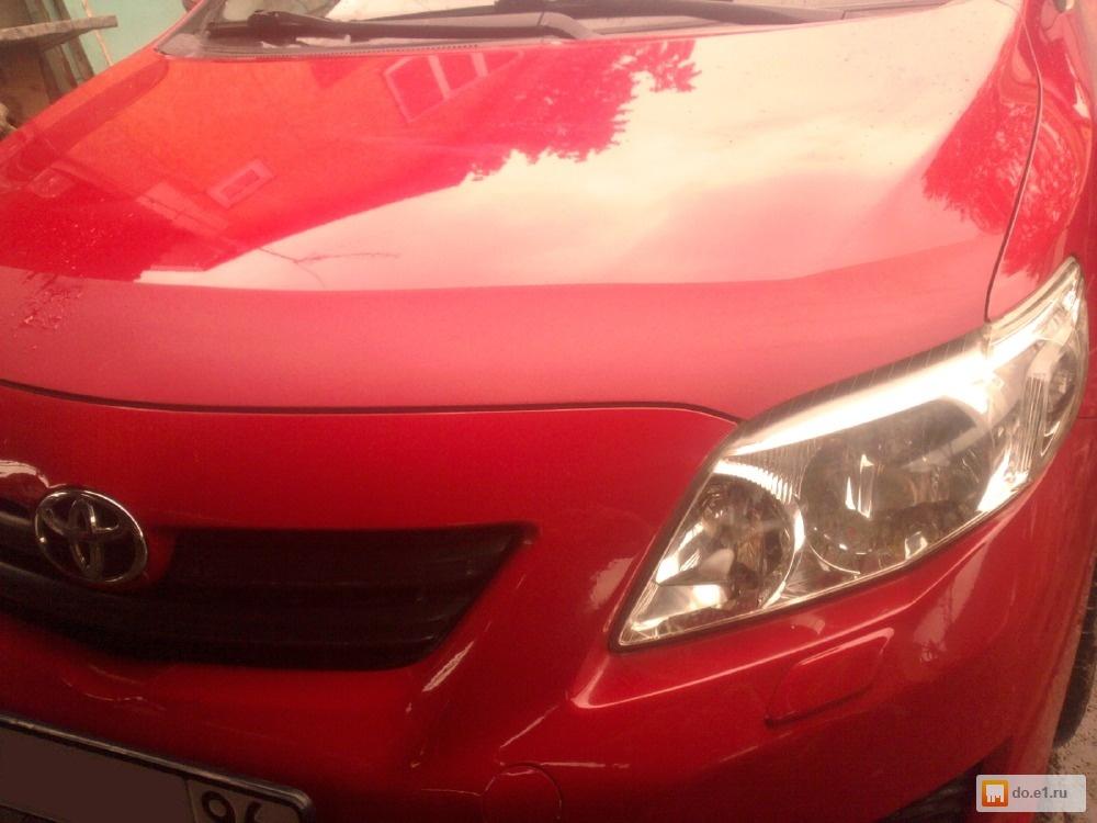 нанесение защиты на авто жидкое стекло