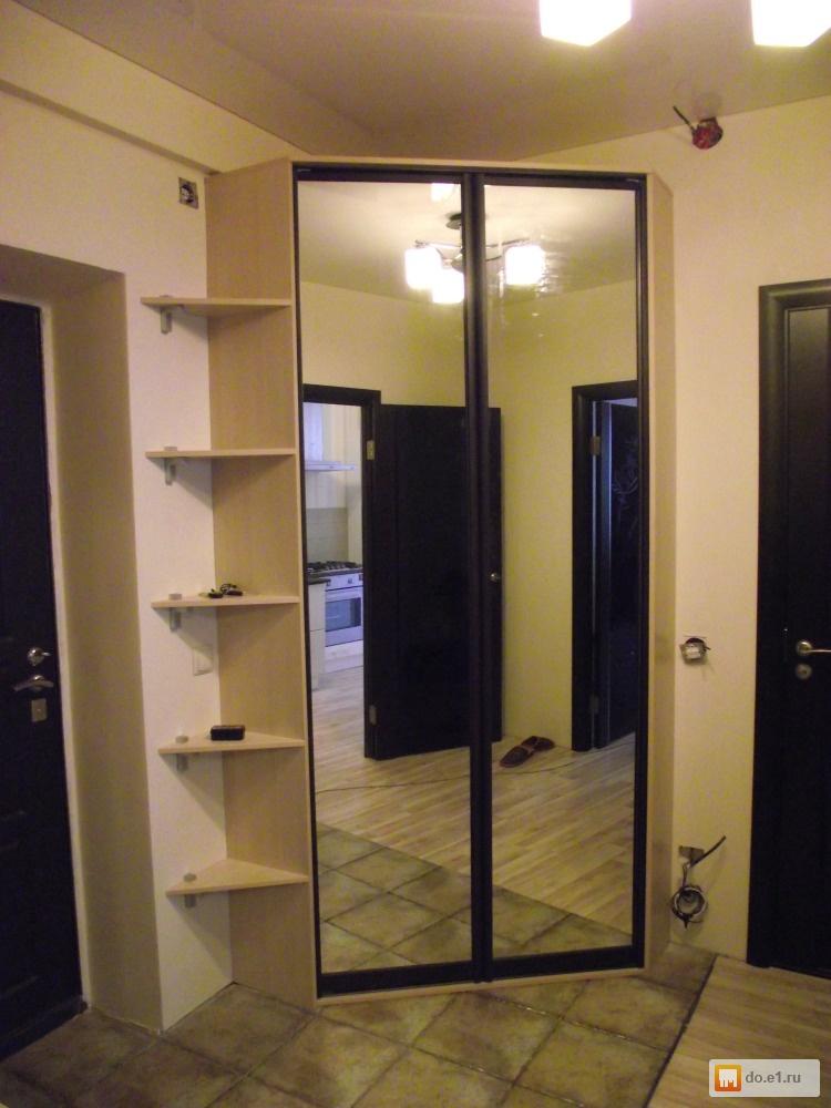Шкаф-купе с индивидуальным дизайном стенки, шкафы в екатерин.