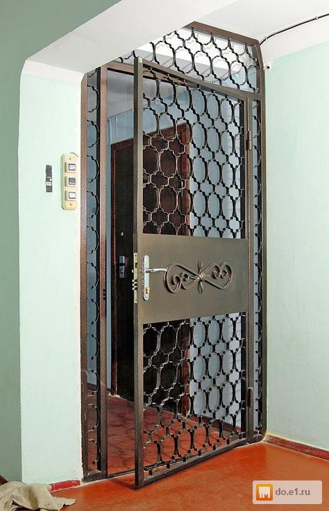 металлические решетки двери на заказ