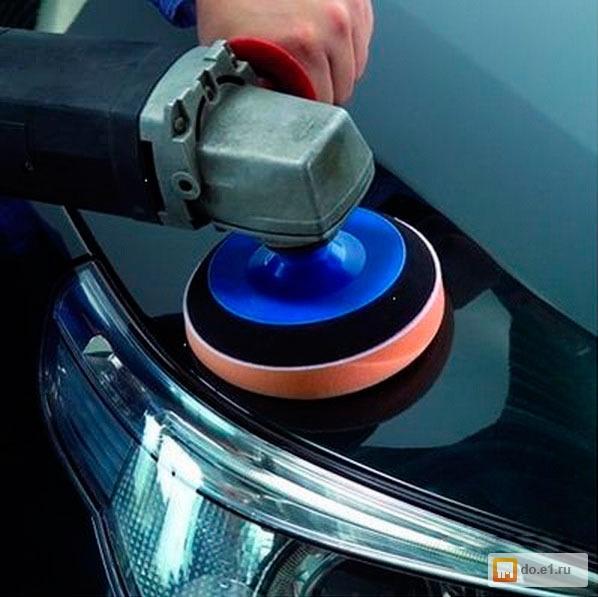 Фото полировка машины своими руками