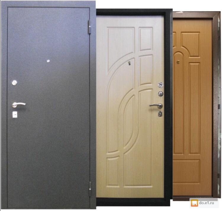 стальных входных дверей