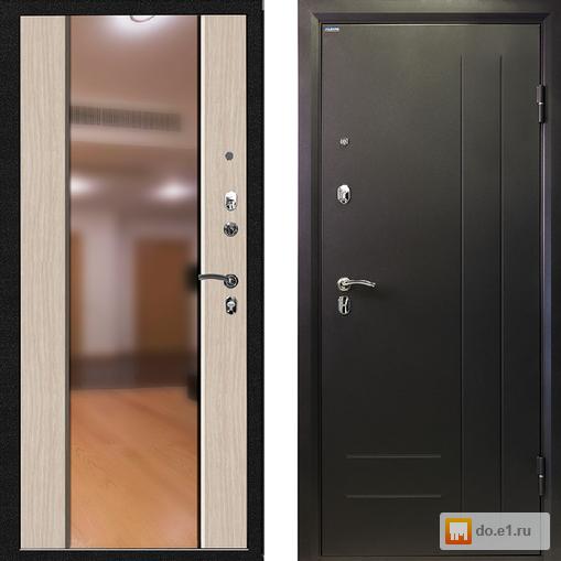 стальные двери с зеркалом по низким ценам