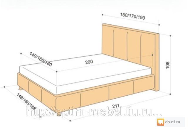 Размеры кровать своими руками