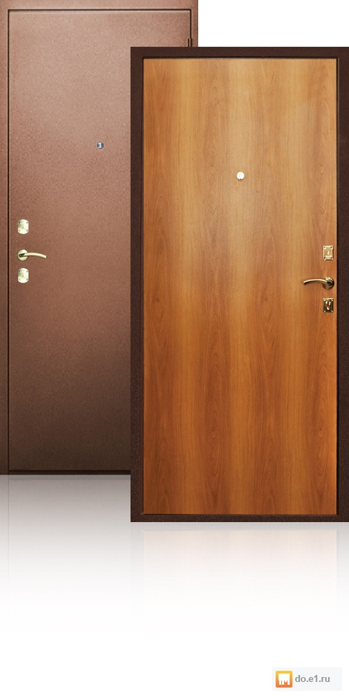 купить входную теплую стальную дверь эконом класса