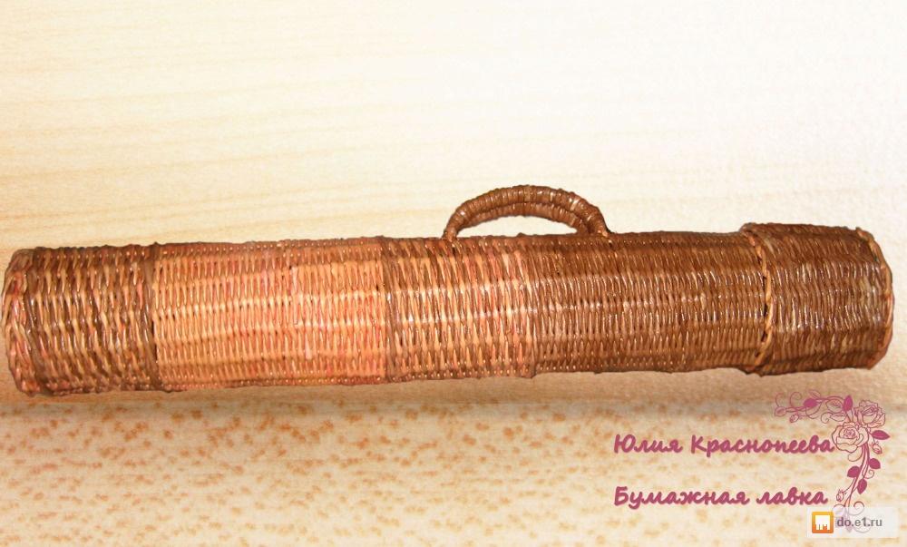 Как сделать тубус для шампуров