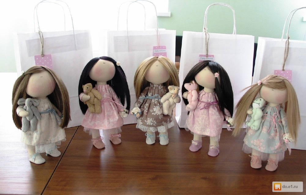 Как научиться сшить куклы 81
