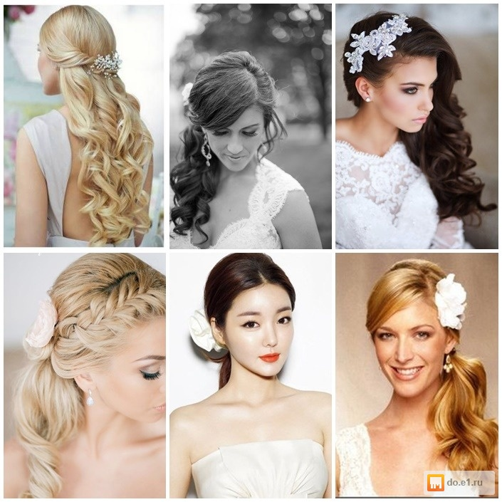 Сделать красивую прическу на свадьбу короткой длины волос