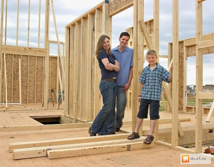 Как построить дёшево каркасный дом своими руками