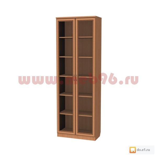 Шкафы одностворчатые для книг и посуды.