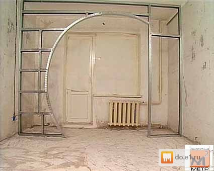 Как сделать перегородки между комнат