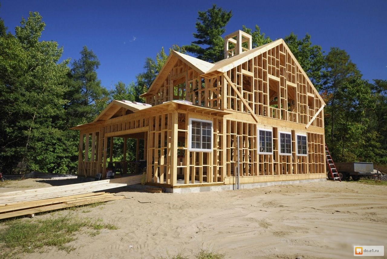 Каркасные дом с фото 160