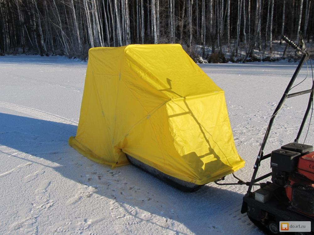 Палатки зимние для зимней рыбалки своими руками