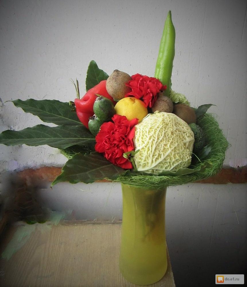 Букеты из овощей своими руками фото пошагово 54