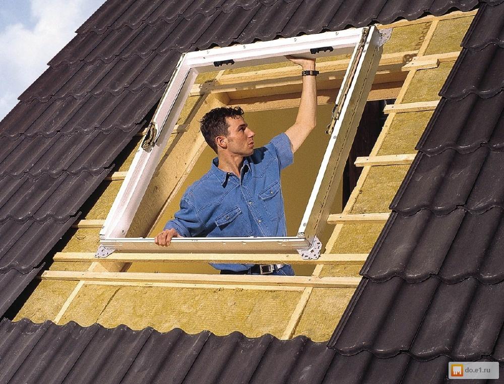 Глухое окно в крышу 181