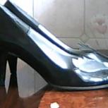 Туфли черные лакированные, р-р 35, новые, натур. кожа, классические, Екатеринбург