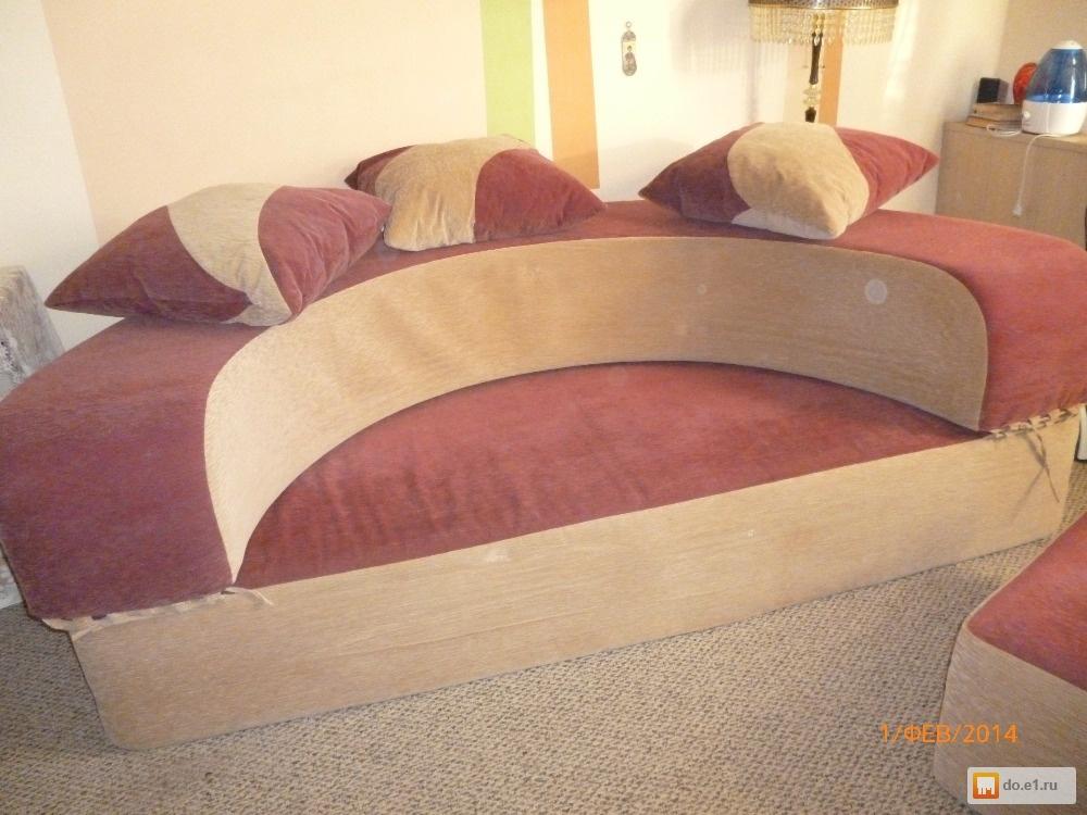 Диван-кровать круглая, фото