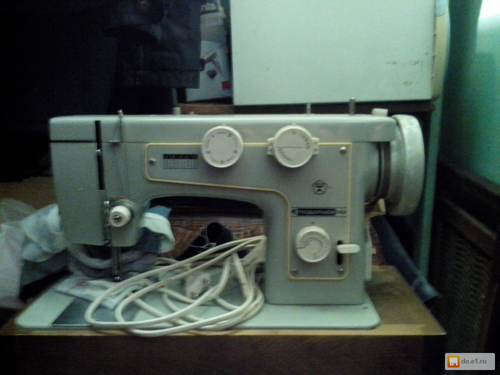 швейная машина подольск 142 инструкция как заправить нитку