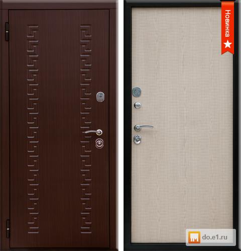 металлические двери для улицы белые