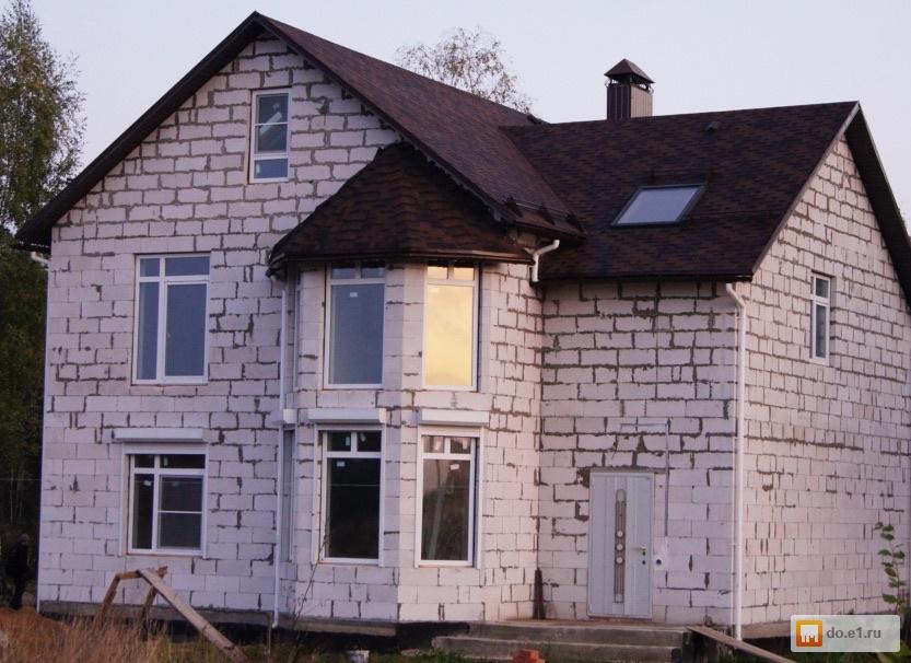 Готовый дом из пеноблока Стоимость от 12 000 руб. за м2