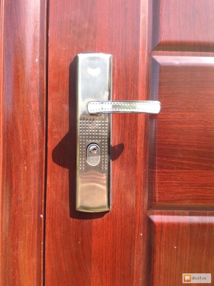 железная дверь входная в домодедово