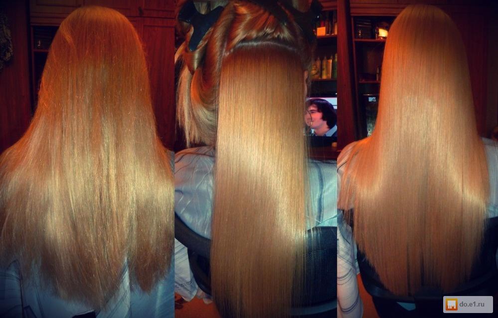 Новое выпрямление волос в домашних условиях