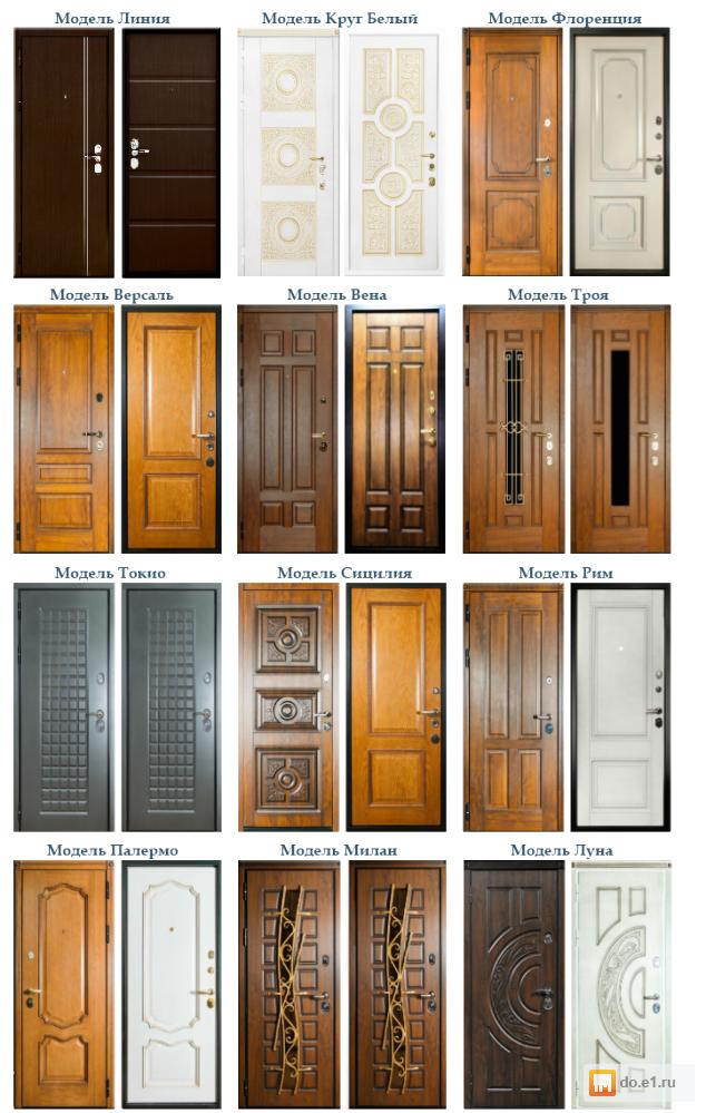 элитные двери входные под заказ
