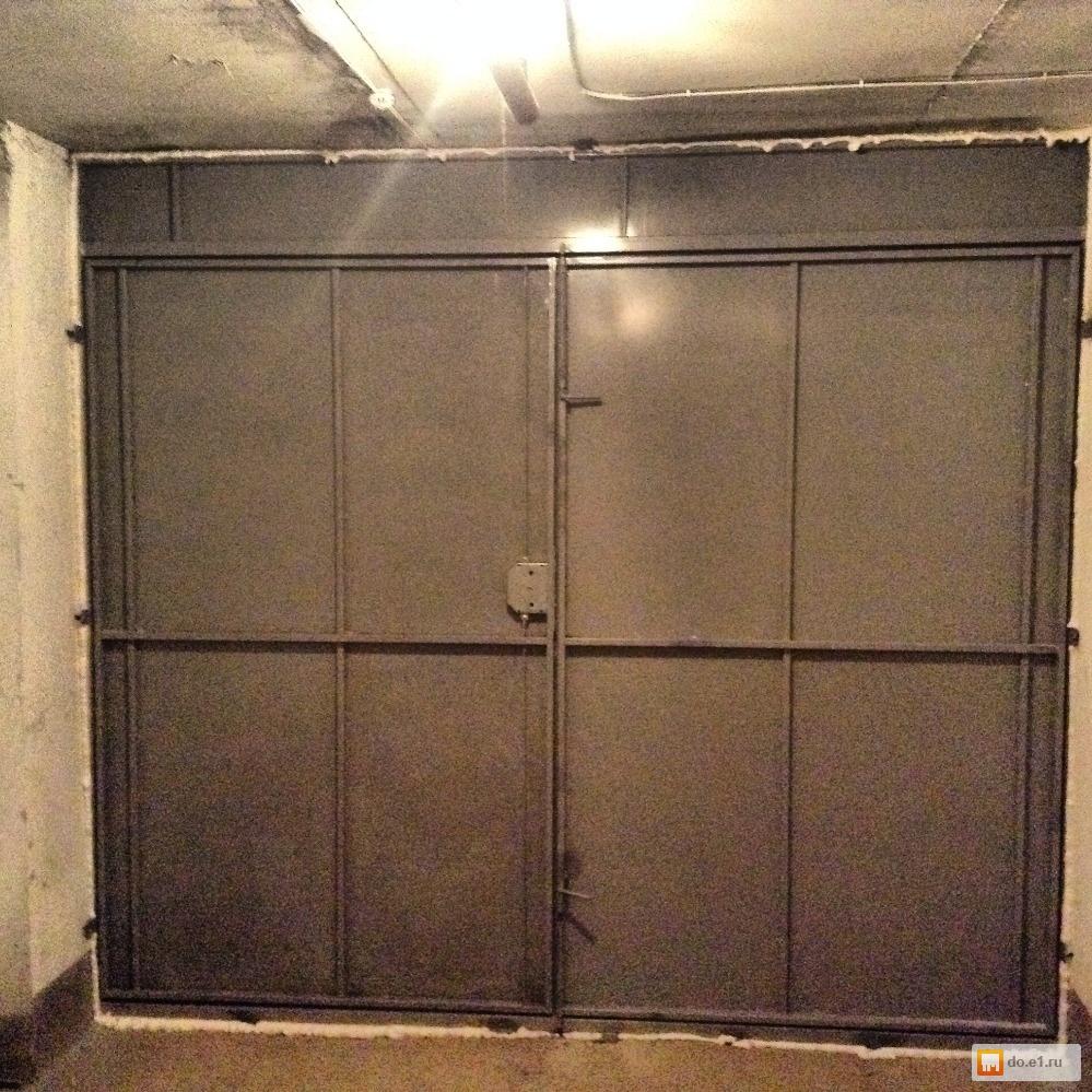 гаражные железные двери расчет и изготовление