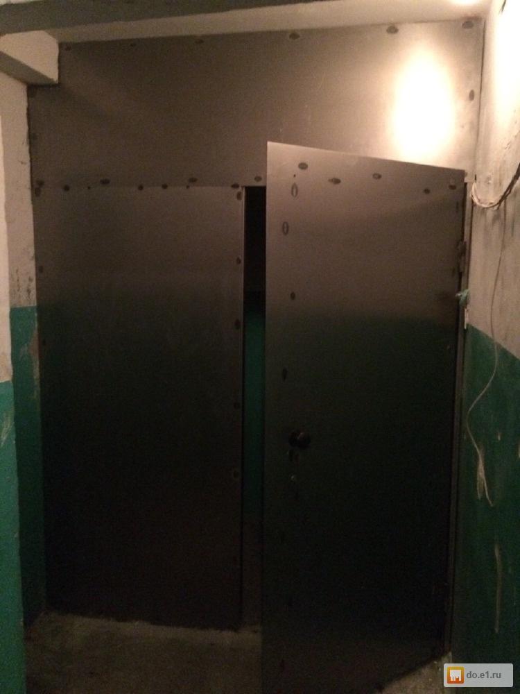 изготовление и установка металлических дверей в подъезд