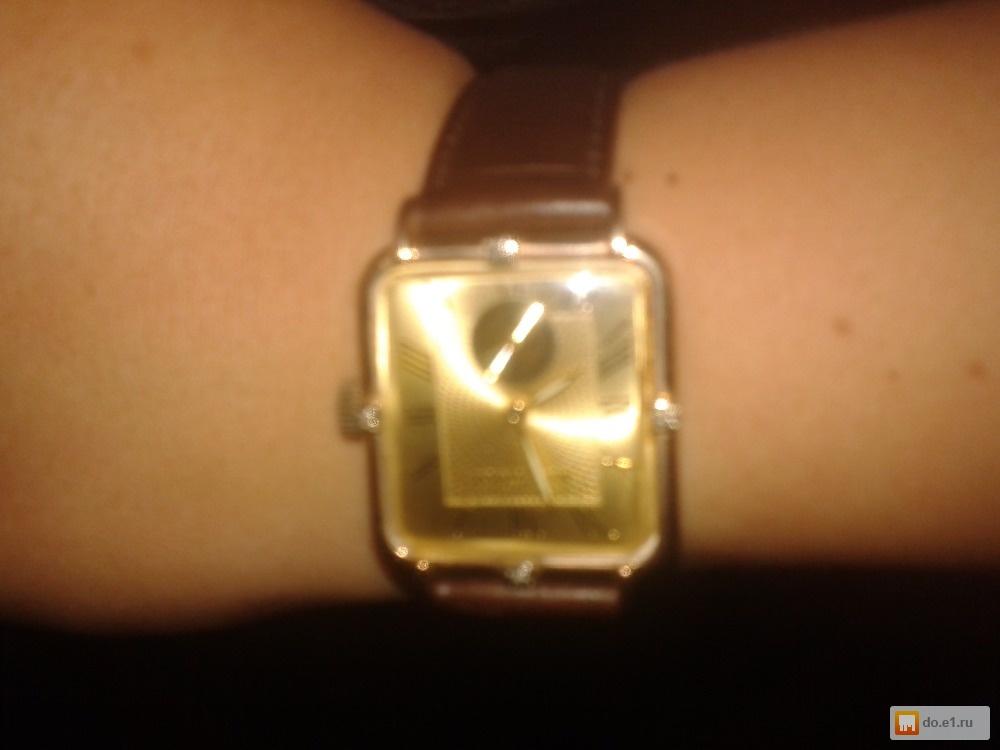 Женские золотые часы мактайм с золотым браслетом