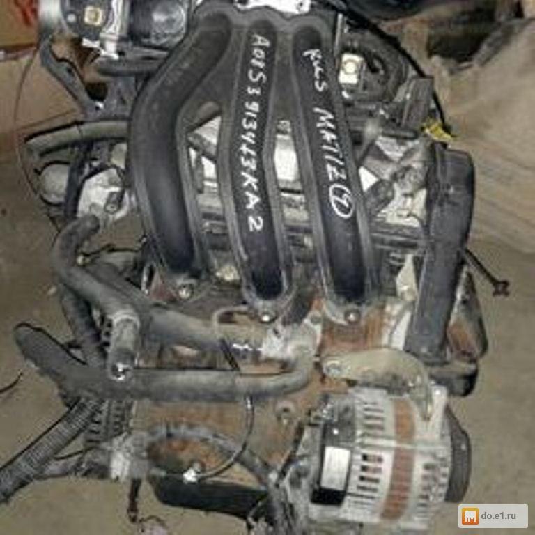 двигатель chevrolet spark от дэу матиз