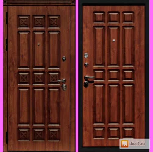 входная элитная металлическая дверь