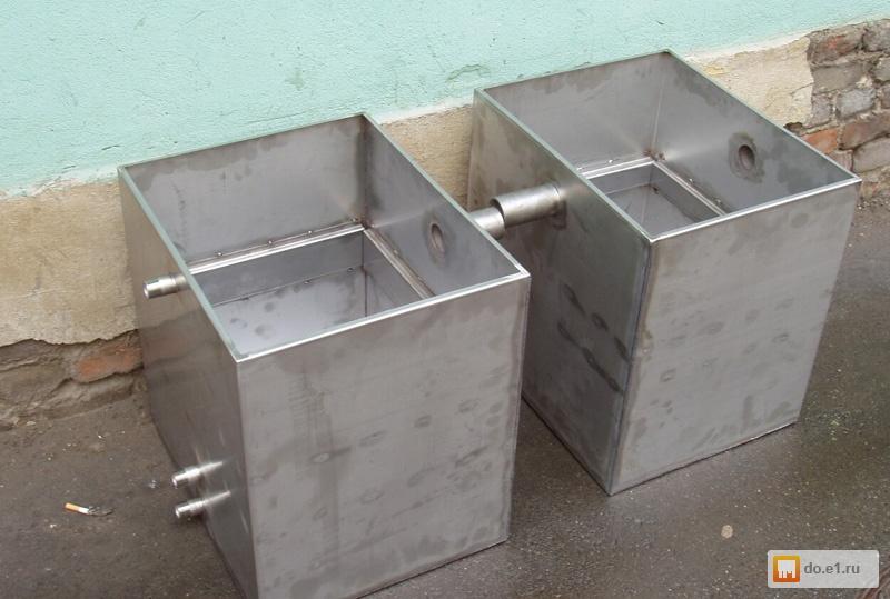 Емкость из металла для воды своими руками