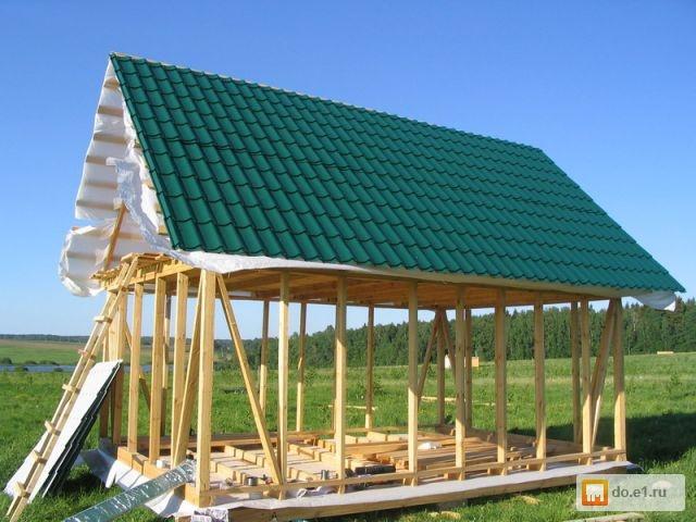 Как закрыть крышу дома