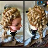 Плетение кос. Прически с кос. На дому равно из выездом, Екатеринбург
